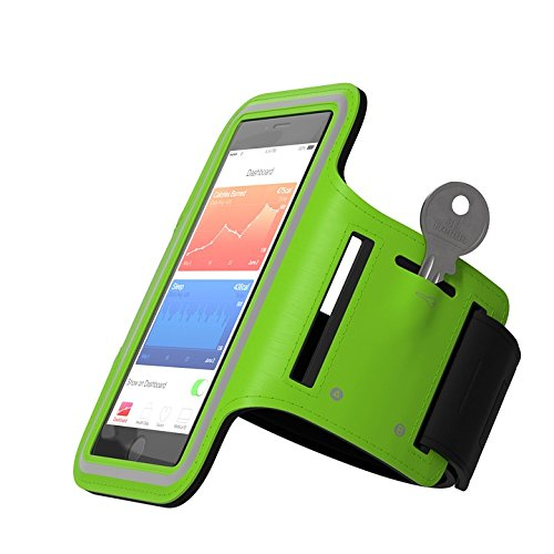 Print on Metal Jogging Sports Armband Run Smartphone Sport Print 12 x 18. Worry Free Wall Installation - Shadow Mount is Included.