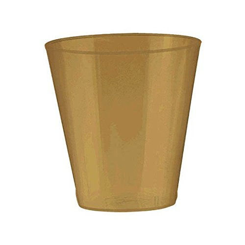 Big Party Pack Gold Shot Glasses | 2 oz. | Pack of 100 | Par