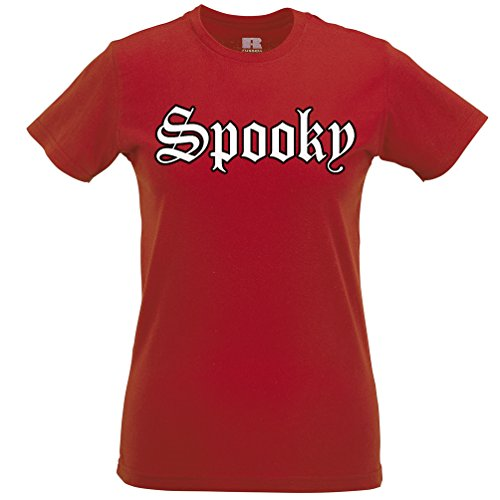 [Old English Spooky T Shirt Scary Halloween Party Costume Scary Trick Treat Gift] (College Girls Group Halloween Costumes)