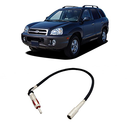 Achieva 96 97 98 Car (Hyundai Santa Fe 2003-2006 Factory Stereo to Aftermarket Radio Antenna Adapter)