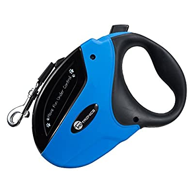 TaoTronics Retractable Tangle Free Dog Leash One Button Break and Lock, 16-Feet for Small Medium Large Dogs up to 110lbs with Waste Bags