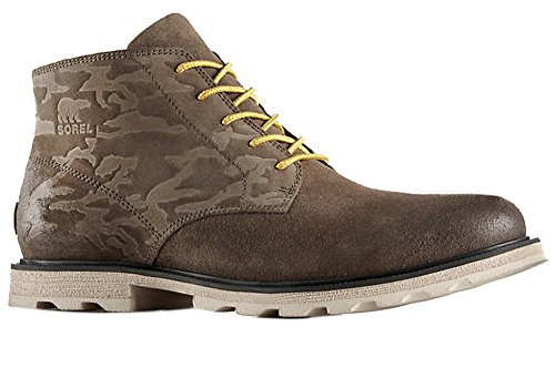 Sorel Mens Madson Chukka Impermeabile Boot Chaparral / Stone