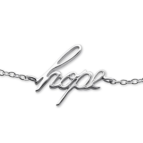 Atik Jewelry Silver Hope Inline Bracelet by Atik Jewelry (Image #1)'