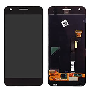 "Replacement Repairing Parts Digitizer + LCD Display Screen Assembly for HTC Google Pixel 5"" Black"