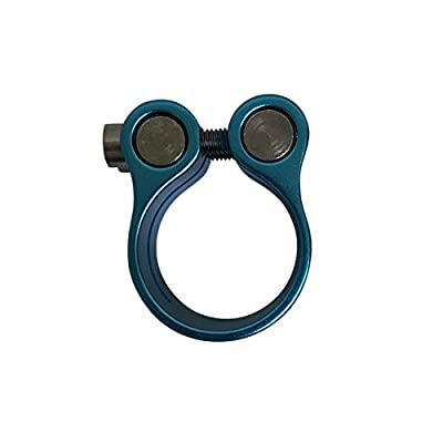 Urban Riders Pro Scooter Clamp | 6061 Aluminum 2-pin Clamp Blue | HIC System USA : Sports & Outdoors