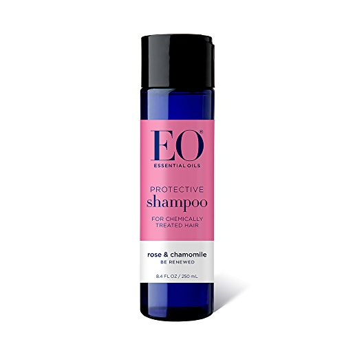 EO Pure Performance Botanical Shampoo, Protective for Color Treated Hair, Rose and Chamomile, 8.4 Ounce (Pack of 3)