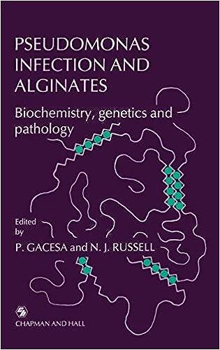 Pseudomonas Infection and Alginates: Biochemistry, genetics and pathology