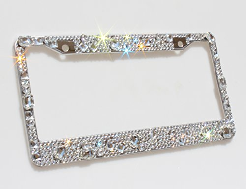 license plate frames sparkly - 6