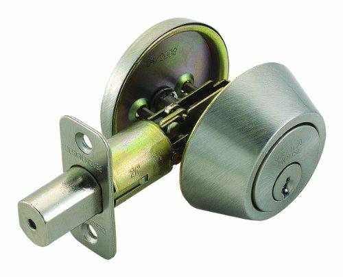 Design House 783589 Single Cylinder 2 Way Latch Deadbolt