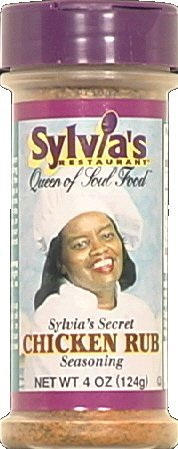 (Sylvias Chicken Rub 4.0 OZ(Pack of 1))