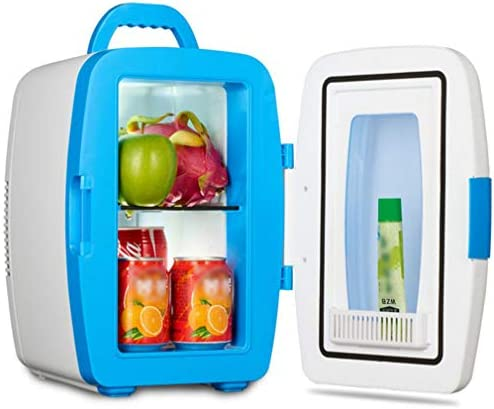 クーラー冷凍庫アイスボックス、 ポータブル冷凍庫カー冷蔵庫10Lカークーラーホットとコールド電気冷蔵庫12V DC/AC 220-240V