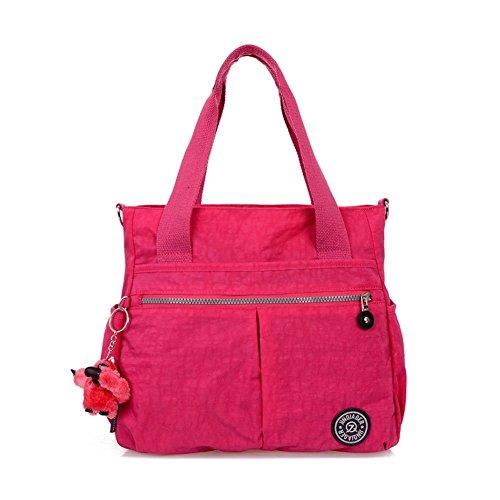 Walcy Fashionable Nylon Korean Version Women's Handbag,Vertical Section Square Fold Package HB880005C1