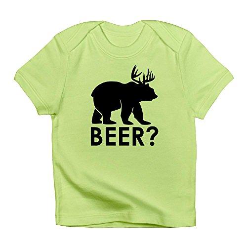 Pilsner Lager (Truly Teague Infant T-Shirt Deer Plus Bear Equals Beer! - Kiwi, 3 To 6 Months)