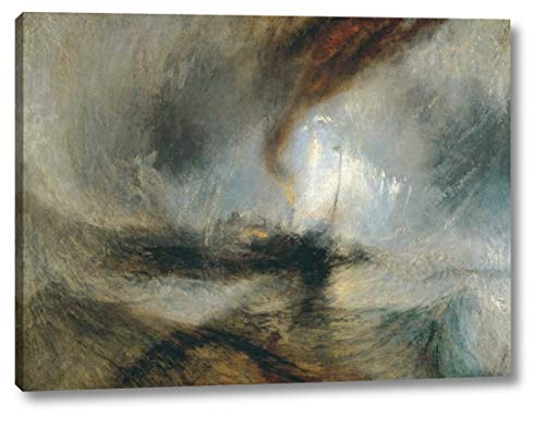 Snow Storm - Steam Boat Off a Harbours Mouth by William Turner - 25