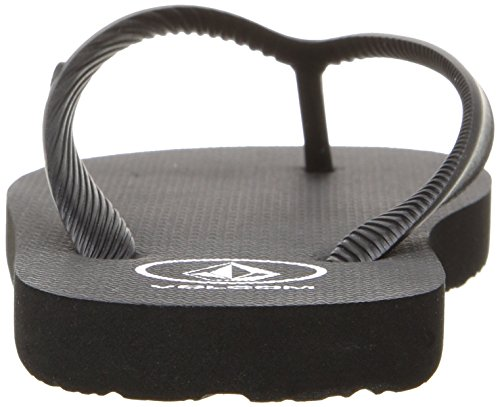 Volcom Chanclas Rocker Big Youth, Color: BLACK, Size: 36 EU (4 US / 3 UK) (Niños/Kids)