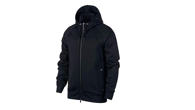 03db6f27406 Nike Jordan Sportswear Flight Tech Shield Full-Zip Hoodie (3XL, Black) at  Amazon Men's Clothing store: