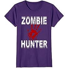 Zombie Hunter T Shirt Scary Halloween Costume