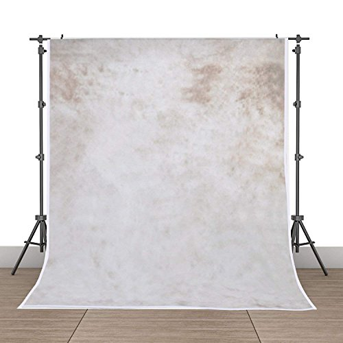 Neutral Photography Backdrop - 5x7ft Photography Background Vinyl Backdrop Studio Props-Gray Tie-dye