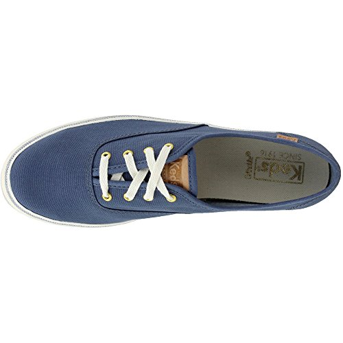 Tpl blu Metallic Keds Gold Kick Rose Donna Linen Sneaker ZawwOpxqd