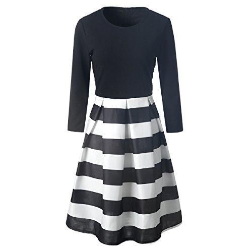 MTTROLI - Camisas - Cuello redondo - para mujer Style A