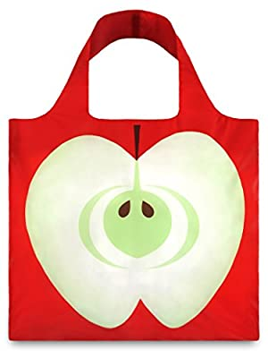 LOQI Apple Reusable Shopping Bag