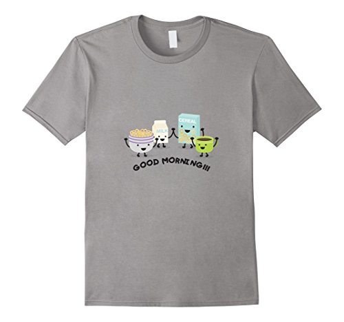 ing - Breakfast Time T-Shirt / Cereals, Coffe  Medium Slate ()