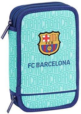 FC Barcelona Plumier Doble, Estuche con 28 Piezas, niño: Amazon.es: Equipaje