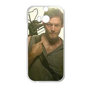 Daryl The Walking Dead White htc m8 case