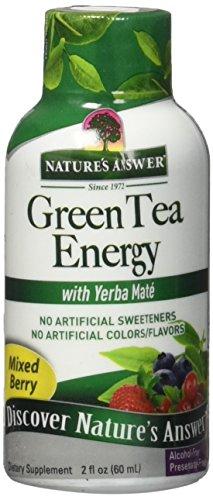 Green Tea Energy Mixed Tea Berry Nature's Answer 2 oz (Tea 2 Ounce Liquid)