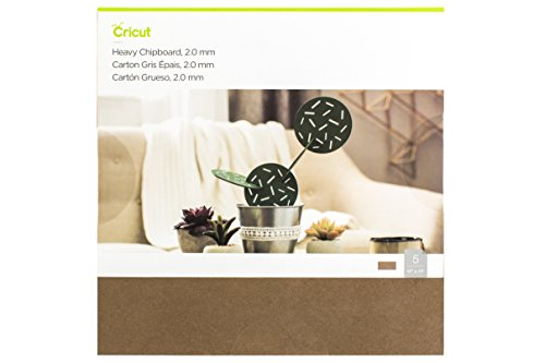 Cricut Heavy Chipboard, Brown