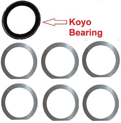 GM TH400 / 3L80 Bearing-Shim Kit. Eliminate Rear-Case Tang-Washer & Thrust Plate THM/TH/Turbo-400