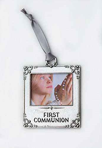 - The Grandparent Gift Co. First Communion 2.5 x 3 Inch Pewter Photo Ornament
