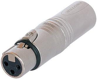 no wire Whirlwind XLR Male to XLR Female Neutrik Adapter