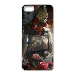 Custom Alice in Wonderland Back Cover Case for iphone5,5S JN5S-631