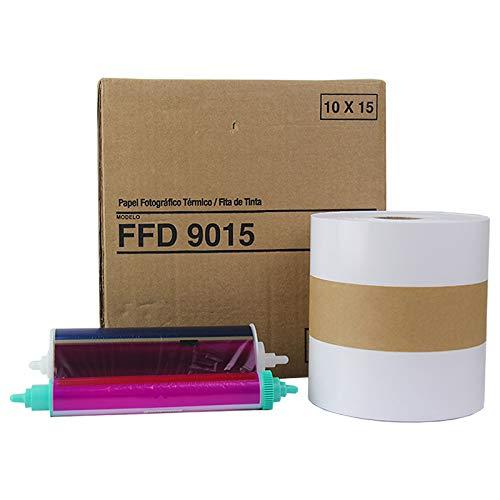 Papel e Ribbon Mitsubishi FFD 9015 10X15