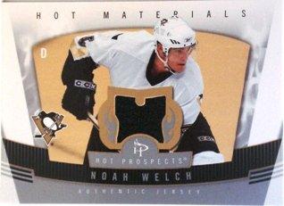 07 Hot Prospects Materials - 2006-07 Hot Prospects Hot Materials #HMNW Noah Welch Jersey
