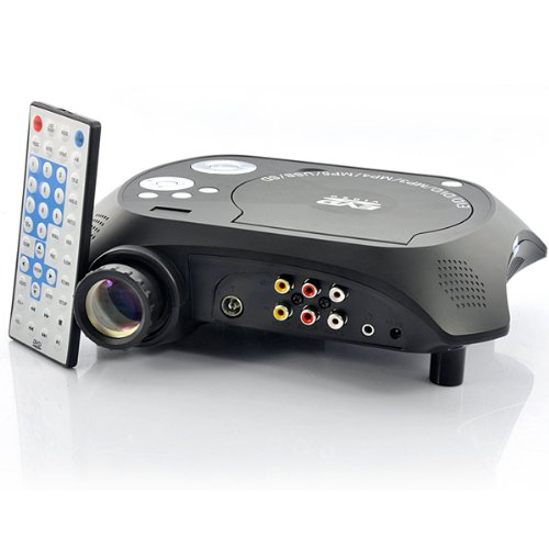 LED Multimedia Projector DVD - Wma To Cd Burn