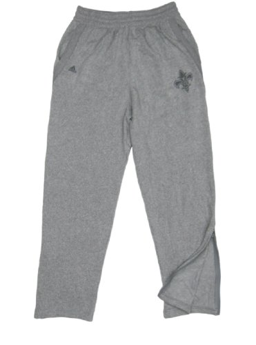 NBA New Orleans Hornets Team Issued Gray adidas Sweatpant...