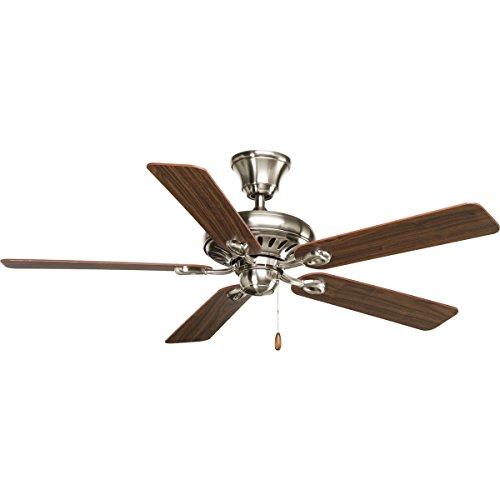 (Progress Lighting P2521-09WA 5 Blade Ceiling Fan, 52