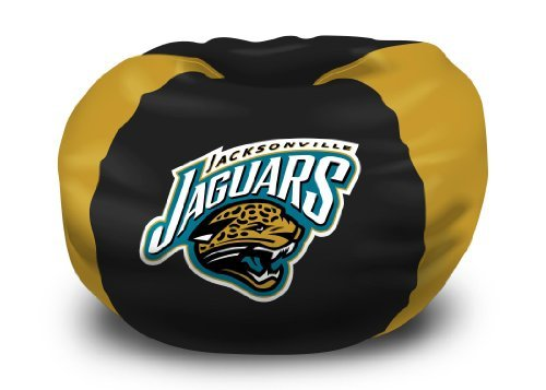 014RET NFL Bean Bag Chair NFL 158 Jaguars Bean Bag (Northwest Jacksonville Jaguars Soft Blanket)