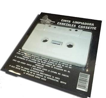 Cinta Limpiadora Cassettes Cabezales - Limpieza en Seco: Amazon.es: Electrónica
