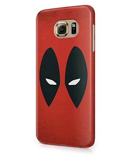 Deadpool Marvel Hero Plastic Snap-On Case Cover Shell For Samsung Galaxy S6