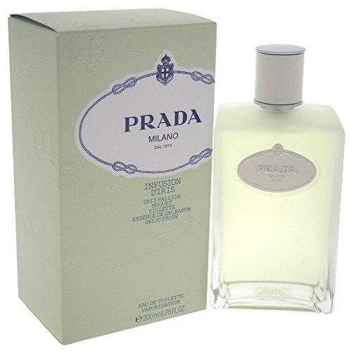 Prada Milano Infusion D'Iris Eau de Toilette Spray for Women, 6.75 - Milano Prada