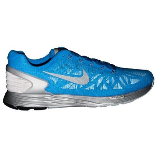 sports shoes 96dd3 0a8ff Nike Men's Lunarglide 6 Flash, PHOTO BLUE/BLACK-REFLECT - Import It All