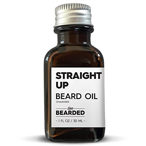 Live Bearded - Beard Oil (Unscented Bear Oil - Straight Up)