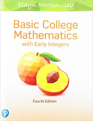 basic college mathematics with early integers free download