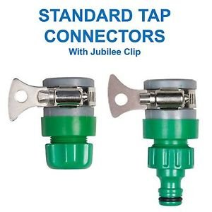 Lazer Electrics Snap On Garden Kitchen Snap Action Tap Hose Fitting  Connector Rubber Mixer Muiti Purpose
