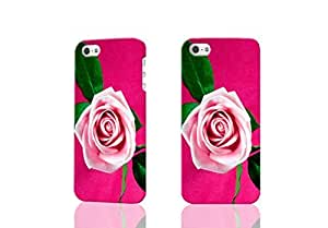 Beautiful Cool Pink Rose Love 3D Rough iphone 4 4S Case Skin, fashion design image custom iPhone 4 4S , durable iphone 4 4S hard 3D case cover for iphone 4 4S, Case New Design By Codystore
