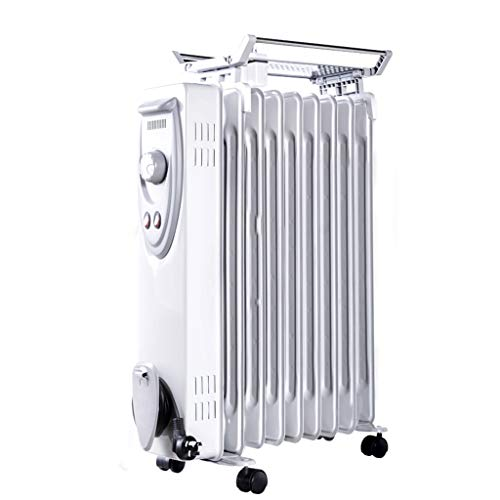 Portable Mobile Electric Heater, Space Heater Home Office Fa