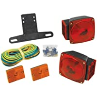 WESBAR Wesbar Submersible Under 80 Combination Trailer Light Kit w/Sidemarkers / 2823285 /